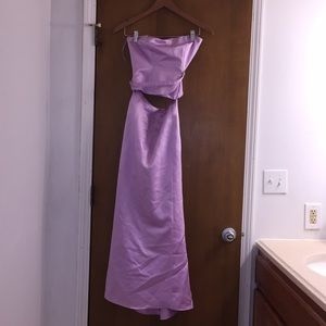 2 Piece Purple Dress